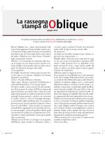 1-30 giugno - Oblique Studio