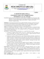 PESCOPENNATARO (IS) - Comune di Pescopennataro