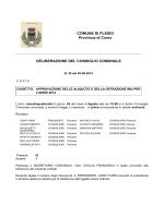 Aliquote IMU 2014 - Comune di Plesio