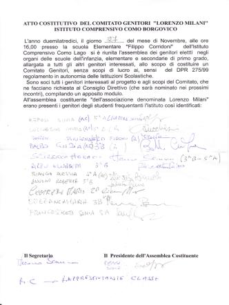 Comitato Genitori - Istituto Comprensivo Como Borgovico