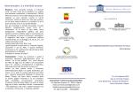 Borse di studio n. 2 e 3 del 2013 sui temi: con il