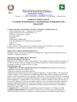 Corso IFTS - IIS G.B. Rubini