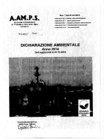 Dichiarazione Ambientale AAMPS