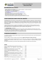 Foglio Informativo - Cassa Rurale Alto Garda