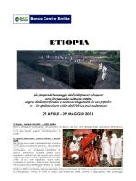 ETIOPIA - Banca Centro Emilia
