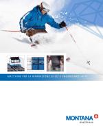 macchine per la riparazione di sci e snowboard 14/15