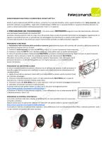 RADIOCOMANDO MULTIROLL B COMPATIBILE CON BFT MITTO 4