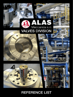 VALVES DIVISION - alasmeccanica.it