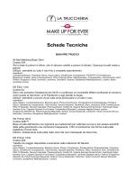 Schede Tecniche - La Truccheria