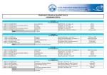 Comunicato Ufficiale n. 12-2014 Calendari CIS Serie A e B stagione