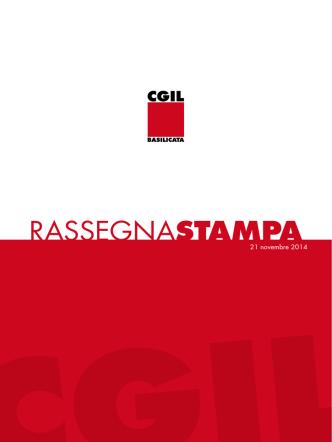 21_11_2014 - CGIL Basilicata