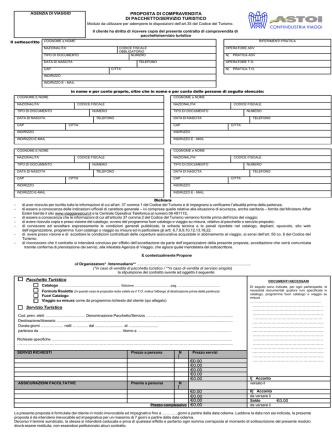 contratto compravendita di pacchetto turistico_ottobre2014