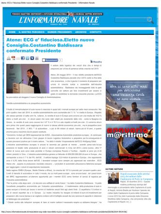 Atene: ECG e - ECG - The Association of European Vehicle Logistics