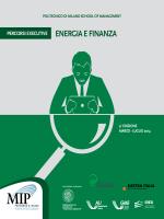 ENERGIA E FINANZA