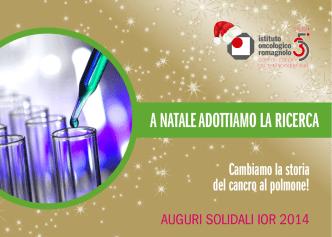 Catalogo biglietti 2014 - Istituto Oncologico Romagnolo