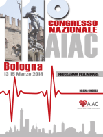 Programma Preliminare - Società Italiana di Cardiologia