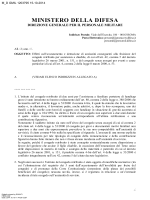 Circolare (file  422 kB) - Ministero della Difesa