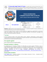PROGRAMMA _CORSO FAD AIFM - Scuola di Medicina