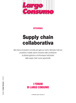 Supply chain collaborativa