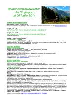 BardonecchiaNewsletter dal 30 giugno al 06 luglio 2014