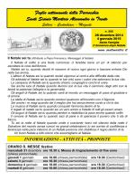 28 dicembre 2014 - Parrocchia Santi Martiri Anauniesi in Trento Solteri