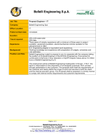 Schedule - Proposal Engineer