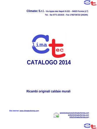 CATALOGO 2014