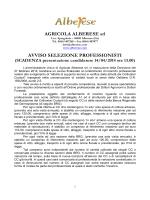 Azienda Agricola Alberese - Ordine dei Dottori Agronomi e Dottori