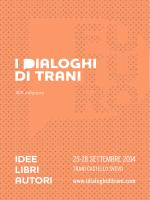 Programma - I Dialoghi di Trani