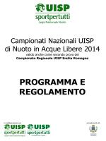 regolamento dei campionati regionali uisp emilia romagna 2011 di