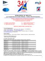 istruzioni regata Invernale Fiumicino