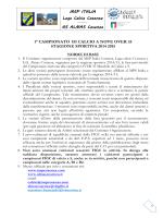 MSP ITALIA Lega Calcio Cosenza GS ALMAS Cosenza 1