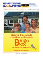 Accumulo e autoconsumo con la Bingobox
