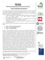 programma didattico corso TESSI_Pordenone