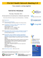 ITA-SLO Health Network Meeting 2.0