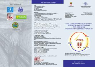 Brochure cistite cronica