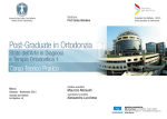Brochure - Società Italiana di Ortodonzia
