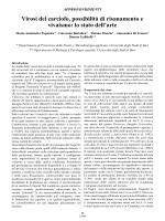 Virosi del carciofo, possibilità di risanamento e vivaismo: lo stato dell