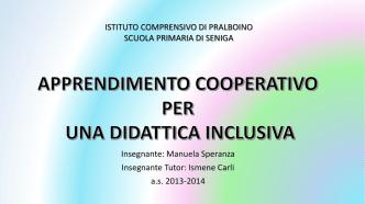 apprendimento cooperativo per una didattica inclusiva