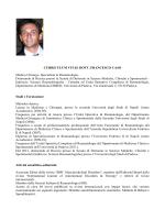 scarica il CV - ReumaNews.com