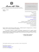 Nota 24644 del 24.11.2014 - Febbre catarrale degli ovini (Bluetongue)