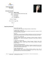 Curriculum Vitae - Dipartimento di Scienze fisiche, della Terra e dell