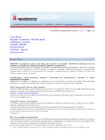 Newsletter di Legautonomie, Anno X – n