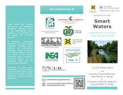 brochure convegno smart waters