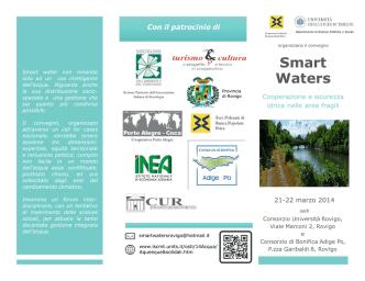 brochure convegno smart waters