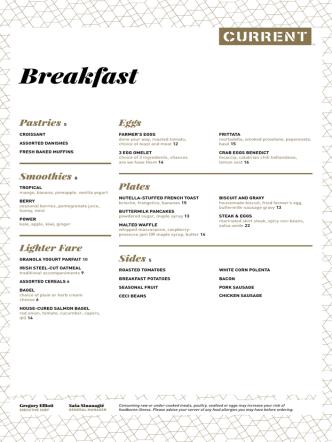 Breakfast - Current