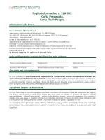 Foglio Informativo n. 266/012. Carta Prepagata. Carta Flash People.