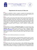 Regolamento del concorso di Video arte