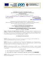 Determina aggiudicazione Luna Navigante PON C1