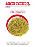 LINEA PASTA CORTA E.N.A. DOUBLE DRY